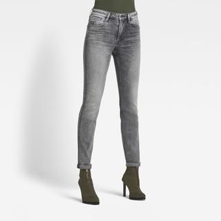 Noxer High Straight Jeans - Straight Fit - Taillehoogte Normaal