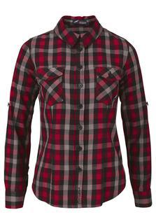 geruite blouse Casual houthakkers-look