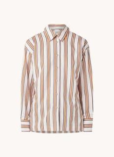 Nais blouse met streepprint