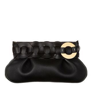 Clutches - Darryl Clutch Leather in zwart voor dames