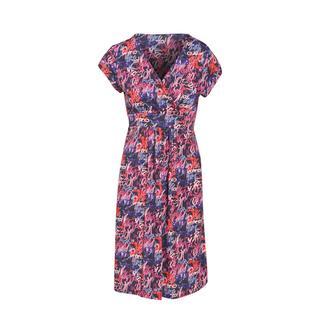 jurk met all over print rosé