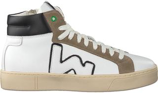 Witte Hoge Sneaker Bask