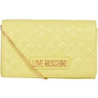 Bag quilted soft pu yellow