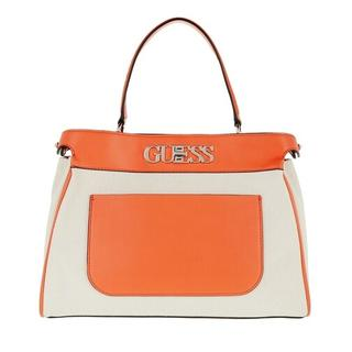 - Uptown Chic Large Satchel Bag in oranje voor dames