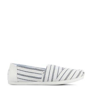 Alpargata Stripe espadrilles wit/blauw
