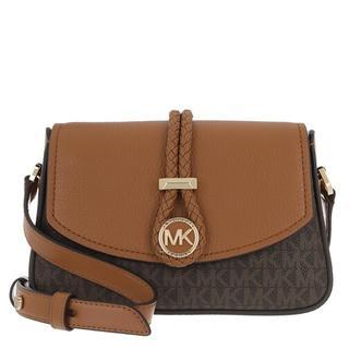 Crossbody bags - Lea Small Crossbody Handbag in bruin voor dames