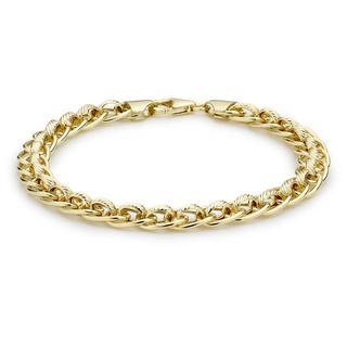 9 Karaat armband diamond cut