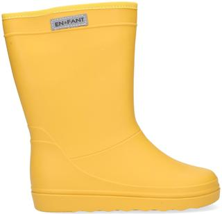 Gele Regenlaarzen Rubber Rain Boot Solid