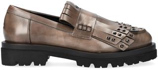 Taupe Loafers 7109a