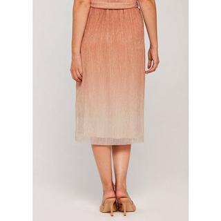 NU 20% KORTING: plissérok Ombre Plisse Midi Skirt