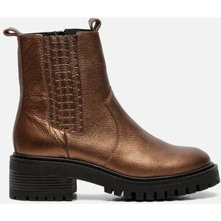 Chelsea boots brons