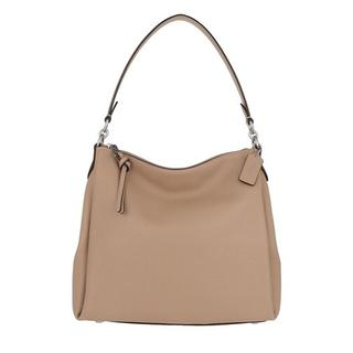 Hobo bags - Soft Pebble Leather Shay Shoulder Bag in fawn voor dames
