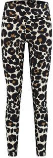 deblon sport leopard legging off-white legging d4144-1000 clas.legg.