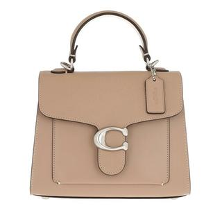 Satchels - Mixed Leather Tabby Top Handle 20 in fawn voor dames