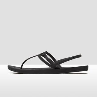 escape lux stud slippers zwart dames