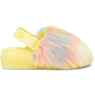 Fluff Yeah Tie Dye Pantoffels voor Dames in Margarita Tie Dye