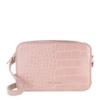 - Stina-Double Zip Mini Camera Bag in roze voor dames