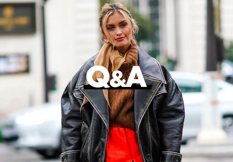Hoe combineer je een oversized leren jas?