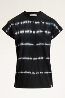Zwart t-shirt tie dye