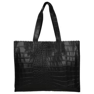 My Paper Bag Work It handtas 13 inch croco black