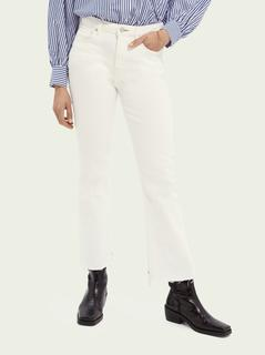 The Kick flared jeans – Summer White