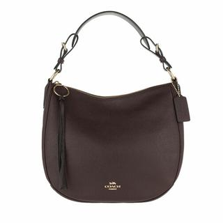 Hobo bags - Pebble Sutton Hobo Bag Leather in rood voor dames