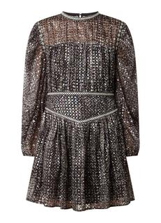 Rimix mini jurk met pailetten