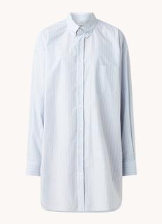 Oversized blousejurk met borstzak