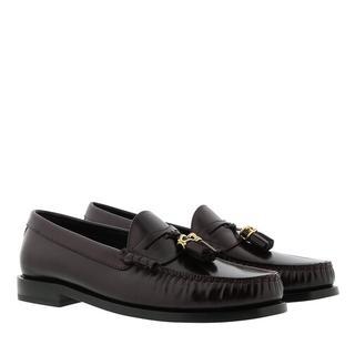 Loafers & ballerina schoenen - Luco Loafer Calfskin in rood voor dames