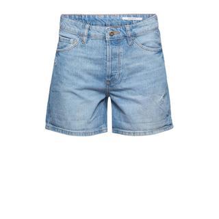 edc Women straight fit jeans short light denim
