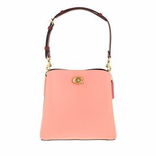 Bucket bags - Colorblock Leather Willow Bucket in pink voor dames