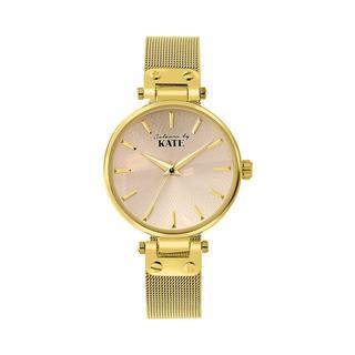 Colours by Kate horloge met goudkleurige band