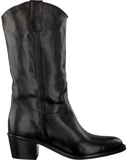 Zwarte Lange Laarzen 8438