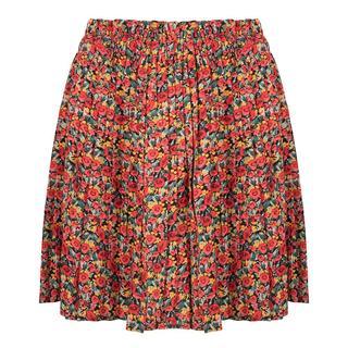 Plisse flower skirt