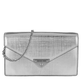 Cross Body Bags - Grace MD Envelope Clutch Silver in zilver voor dames - Gr. MD