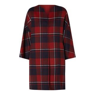 Keerbare mantel van scheerwol