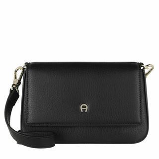 Clutches - Shoulder Bag/Clutch in zwart voor dames