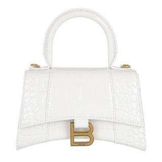 Satchels - Hourglass Top Handle Bag in wit voor dames