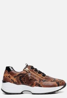 Comfort sneakers cognac