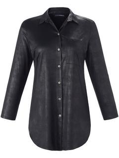 Blouse in A-lijnmodel zwart