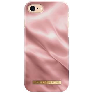 Fashion Backcover voor iPhone SE (2020) / 8 / 7 / 6(s) - Rose Satin