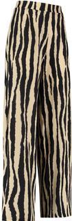 Pantalon Esmeralda Beige Zwart 05928-esmeralda str. trou