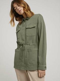 NU 20% KORTING: military-jas Utility-fieldjacket met rijgkoord
