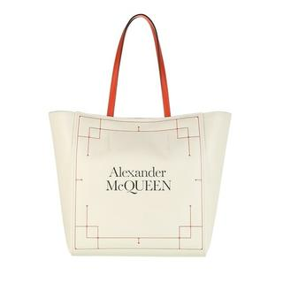 Shoppers - Signature Shopping Bag in beige voor dames
