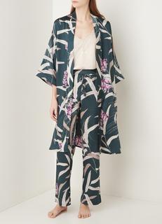 Pravar kimono met print