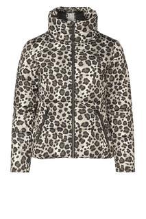 jas met luipaardprint