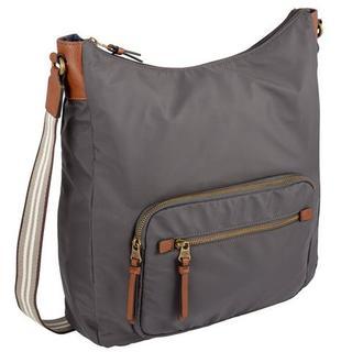 Hobo-tas met praktisch ritsvak achter
