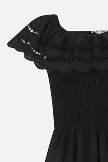 Maxi-jurk Zwart 1087