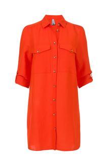 Dames Tuniek linnen oranje