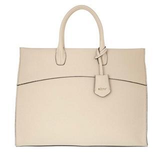 Shoppers - Nora Pegaso Shopper Leather in beige voor dames